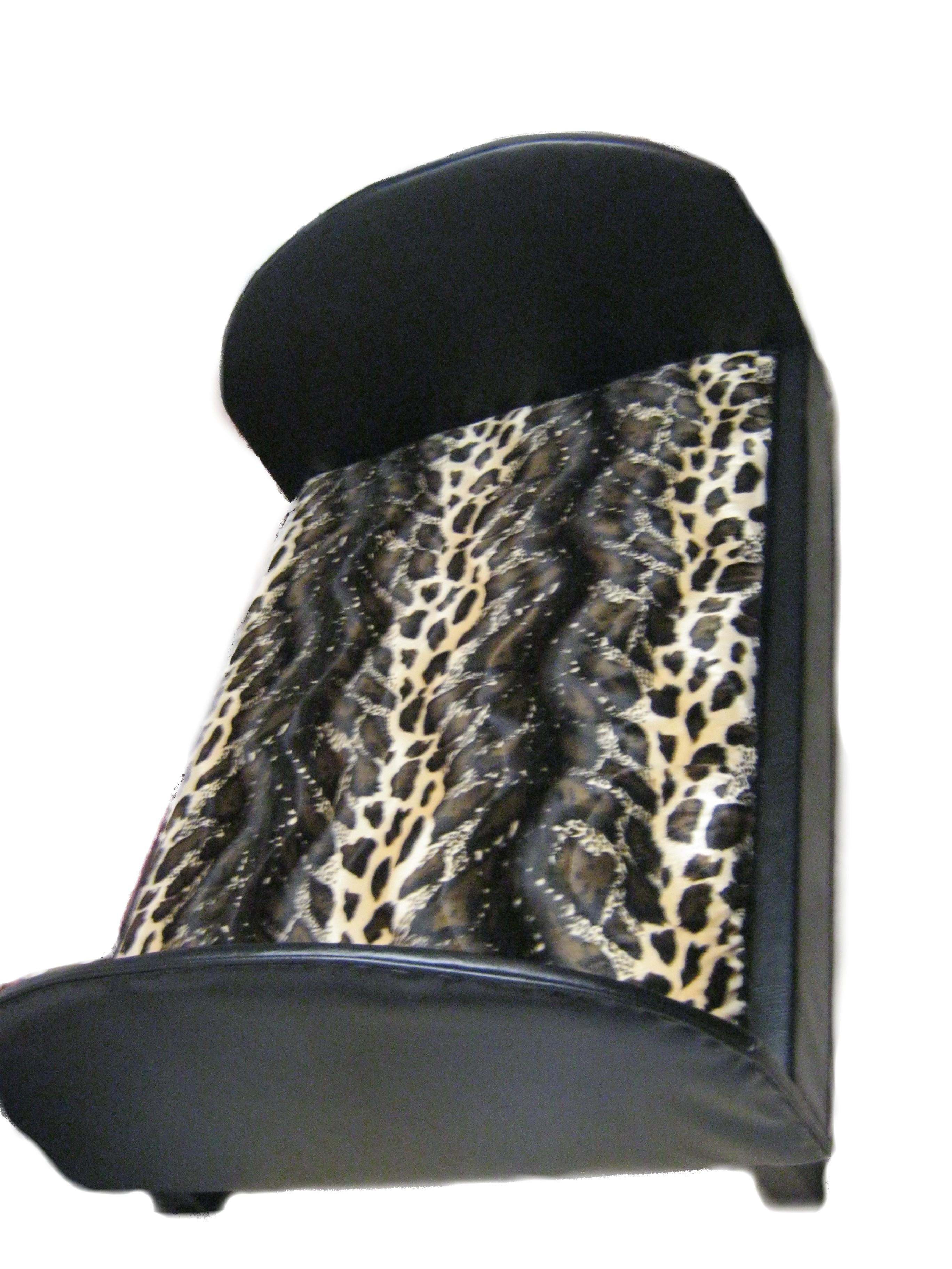 Large Brown Cheetah Dog Bed