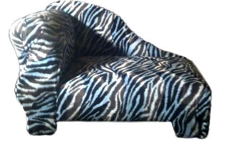 Black and White Zebra Dog Bed