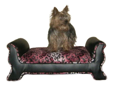 Cheise Pink Dog Bed with Hummer