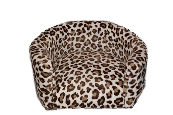 Cheetah Print Round Dog bed RESIZED