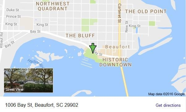 Maps of Beaufort SC How To Find Us Find Beaufort