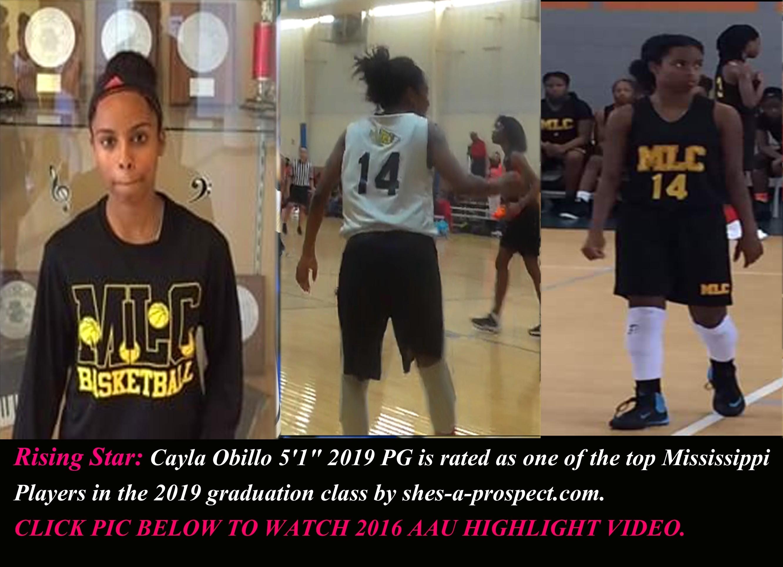 Cayla Obillo SAP 2017 SS