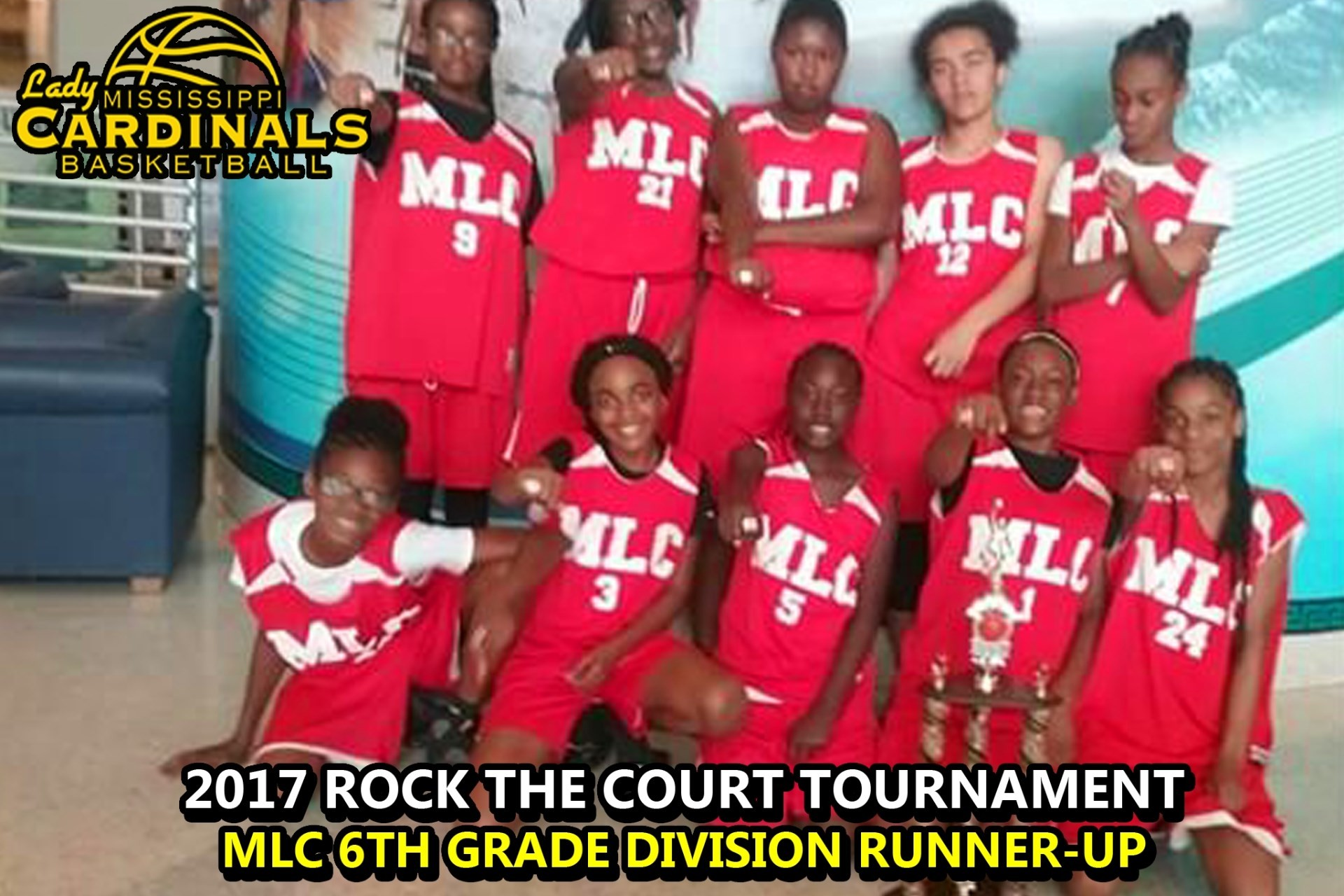 2017 MLC 6TH ROCK THE COURT RUNNER UP