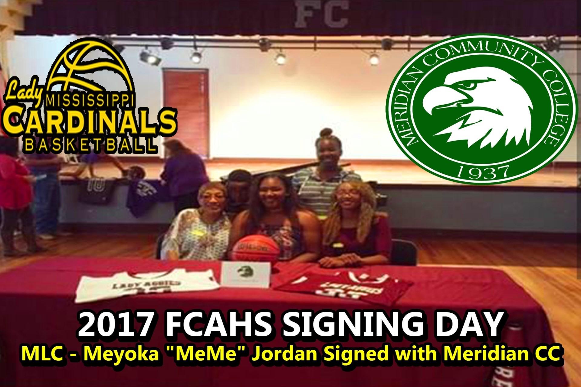 2017 MLC MEME JORDAN SIGNING DAY