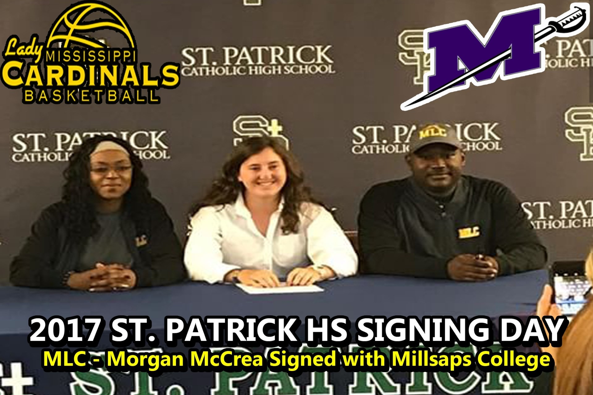 2017 MLC MORGAN MCCREA SIGNING DAY