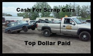 salvage yard, junk car buyer, for cash, free pick up of scrap