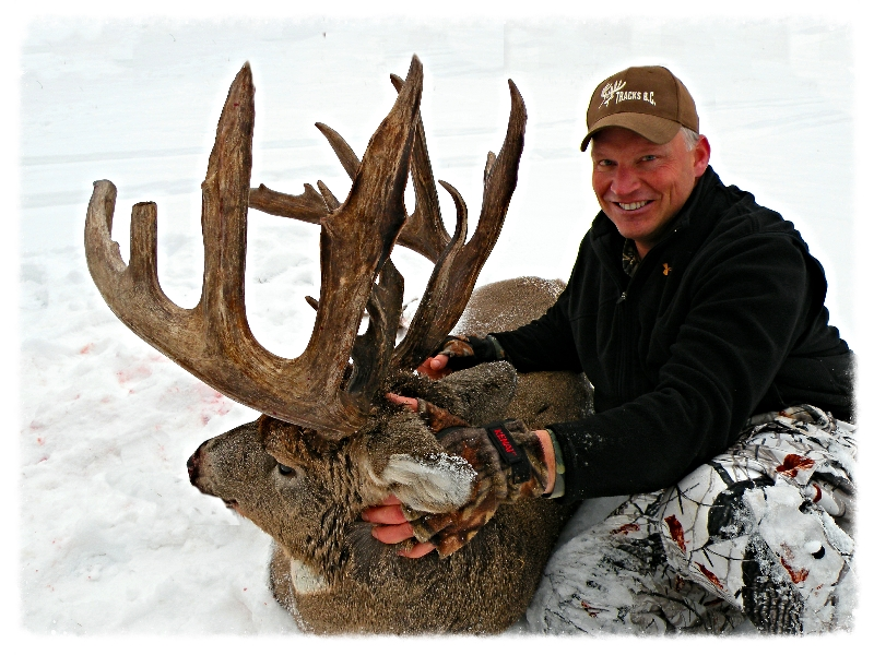 BC Whitetail Hunting Guides Tracks BC