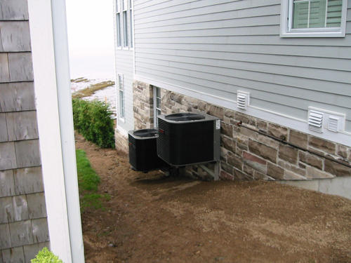 Two Heat Pumps in St. Andrews