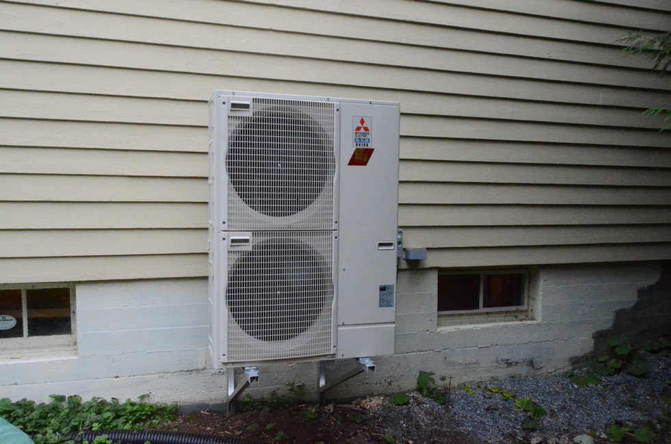 Mitsubishi Zuba Low Ambient Heat Pump