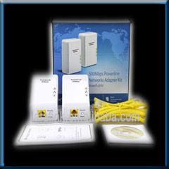 LAFALINK 500Mbps Powerline Adapter Kit