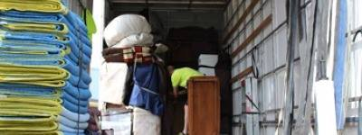 Loading Removals Truck