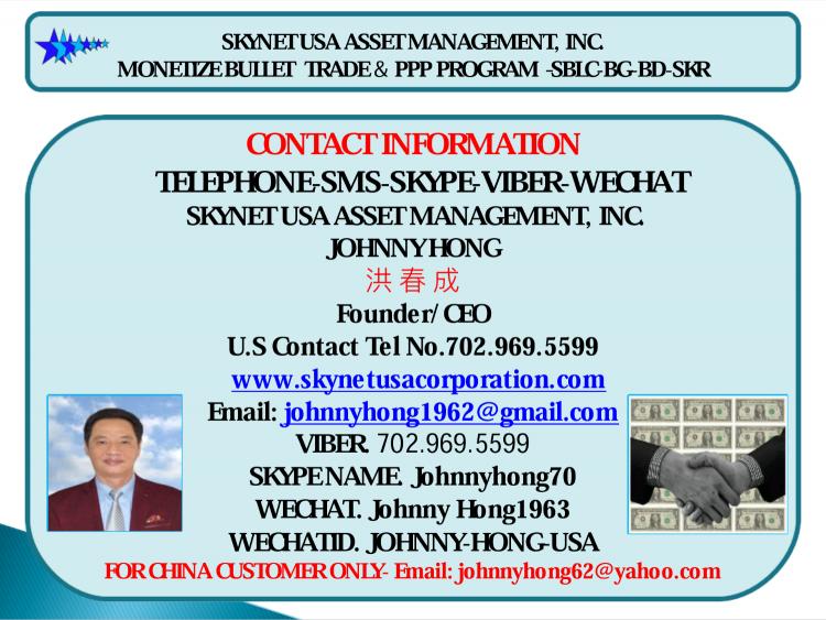 投资香港银行PPP 项目, Monetization Bank Draft, BG, SBLC