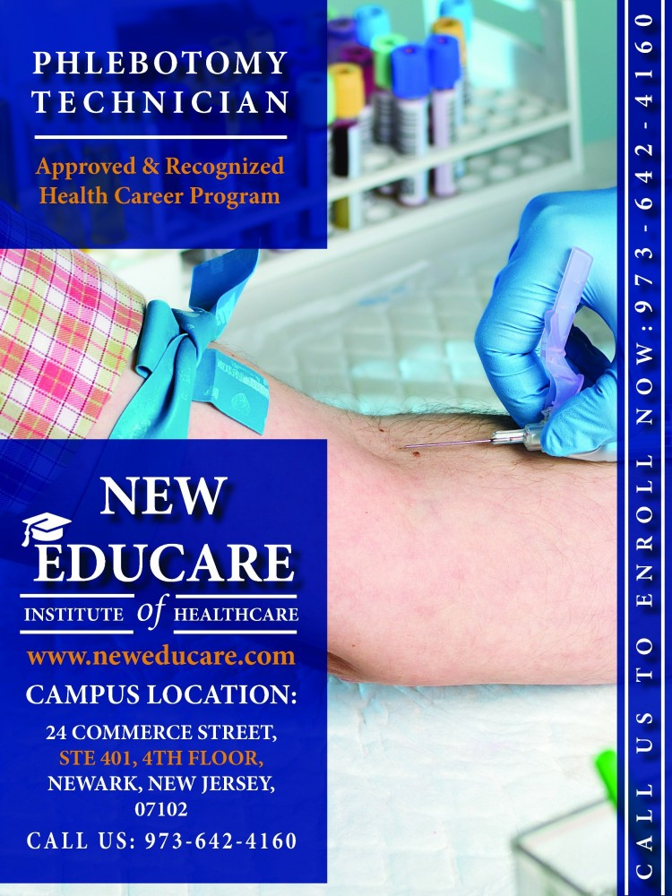 Certified Phlebotomy Technician Training Program In Nj Offered At