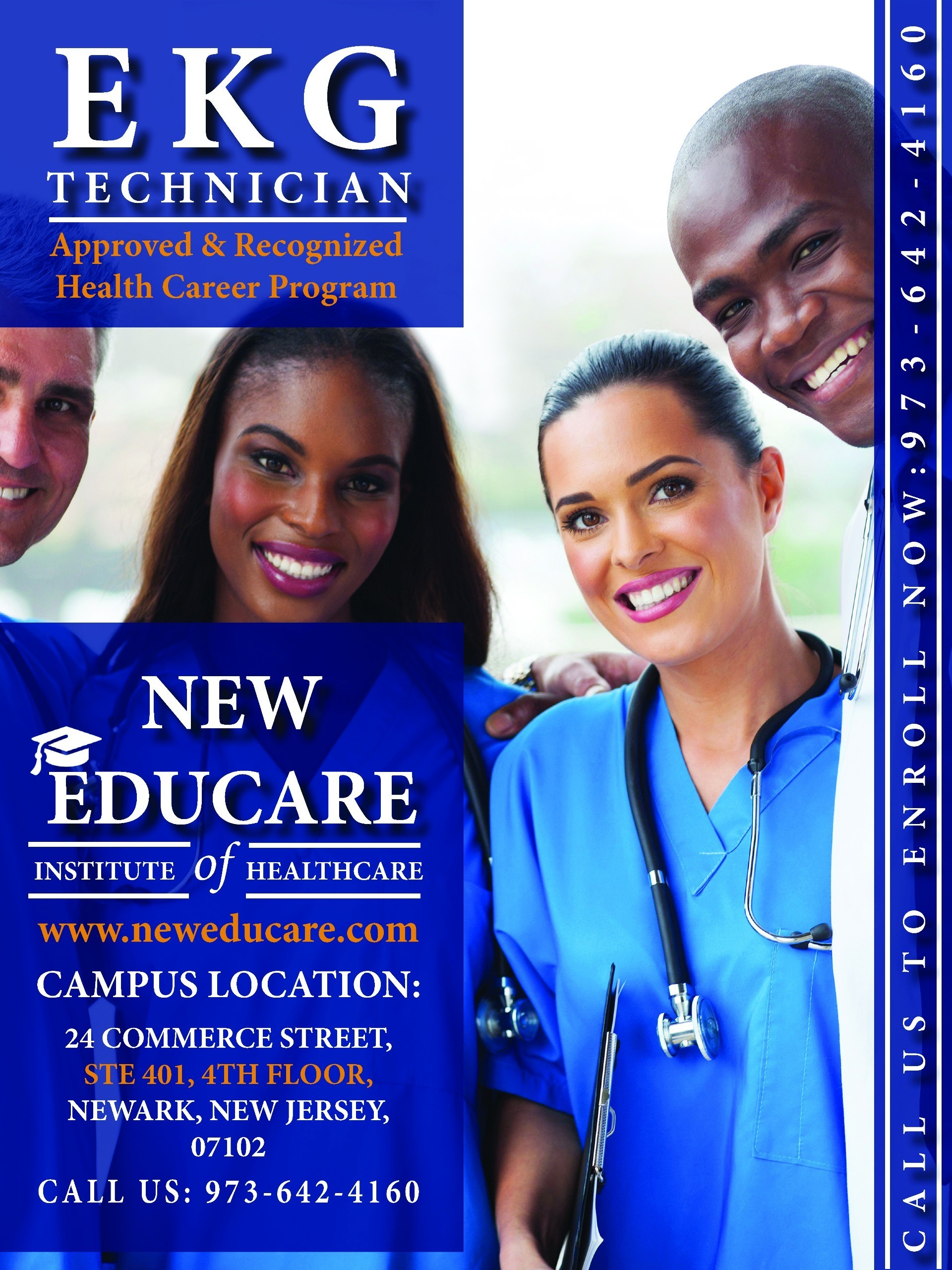 Certified Ekg Technician Training Program In Nj Offered At New