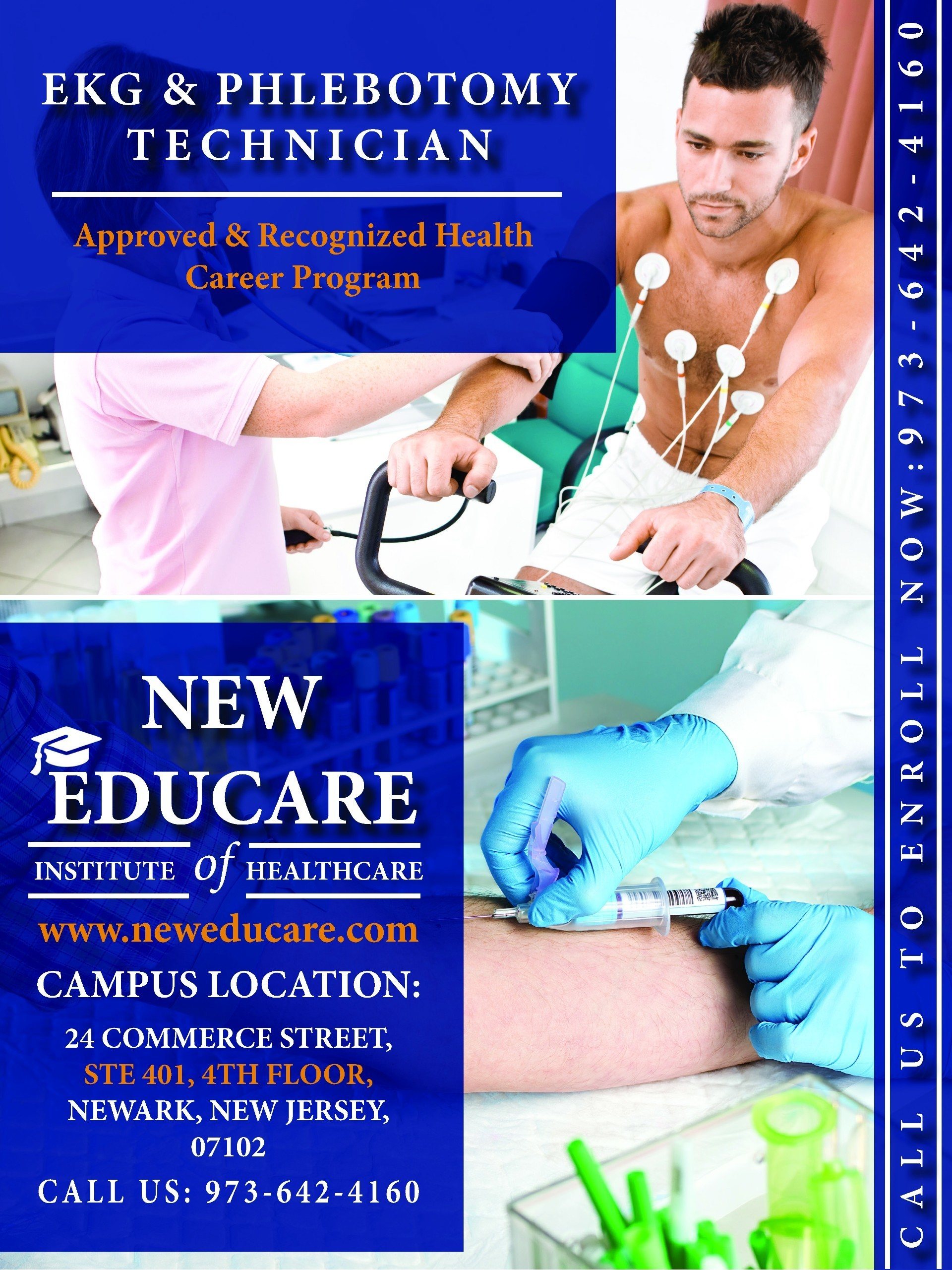 Certified Ekg And Phlebotomy Technician Training Program In Nj