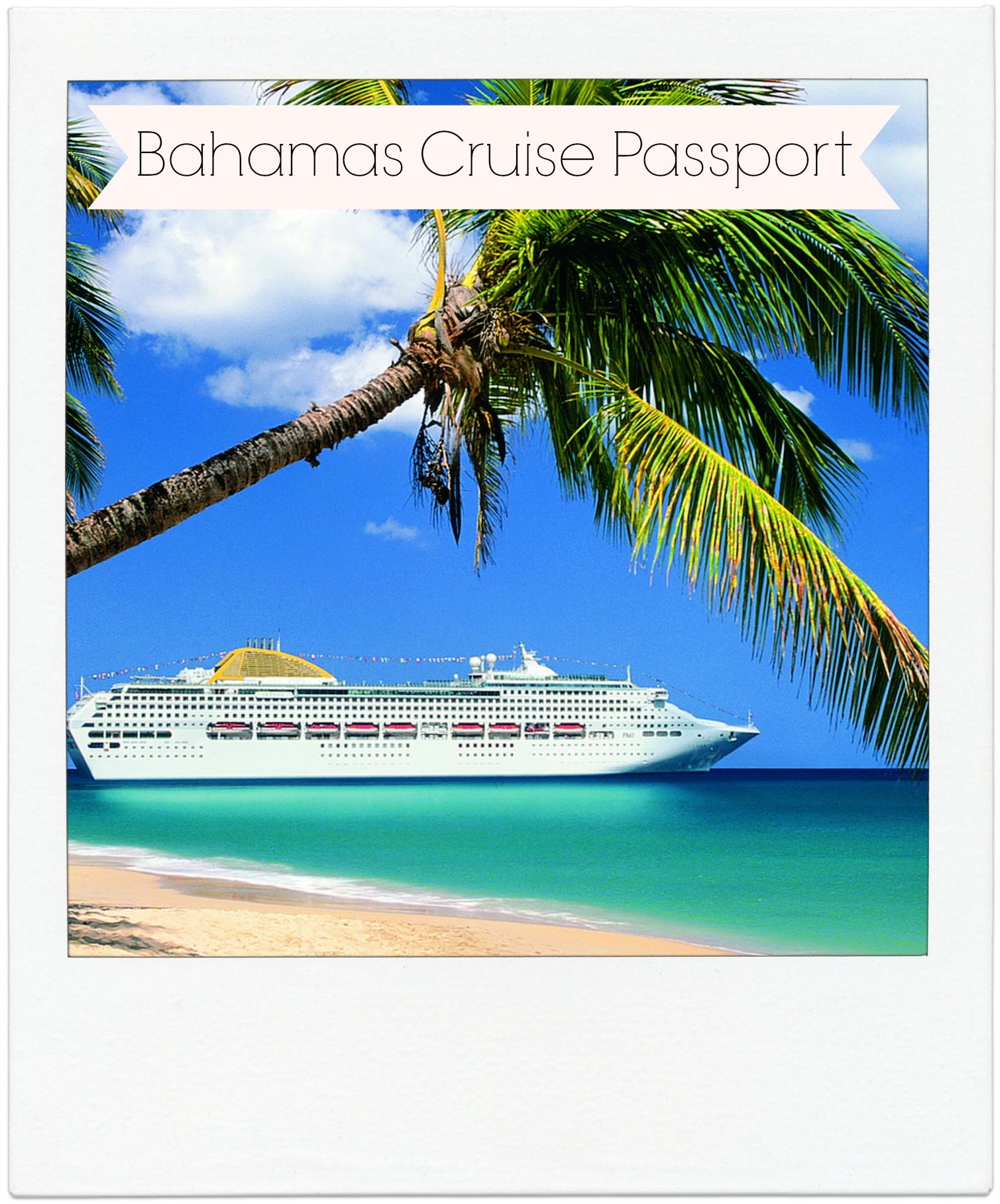 Vacation Travel Bahamas Cruise