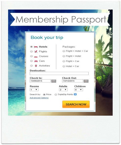 Vacation Travel Membership Passport