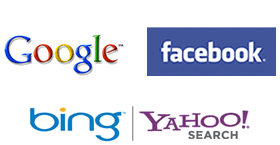 Get your website listed on Google, Bing, Yahoo, Facebook and more